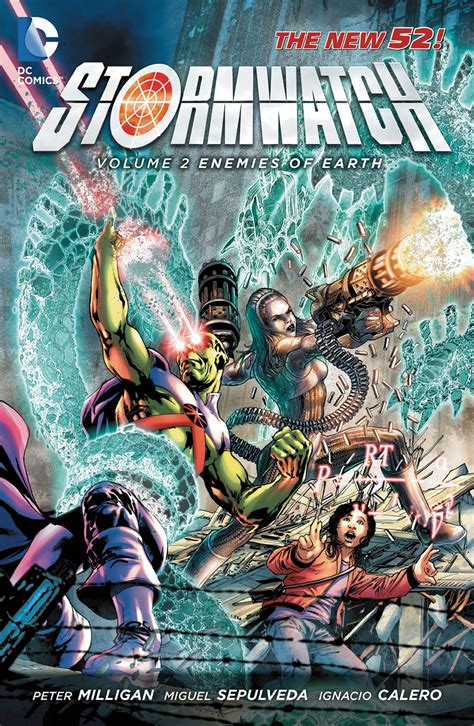Komik Stormwatch Vol 2 Enemies Of Earth Dc Comics review vo stormwatch vol 2 enemies of earth dcplanet fr
