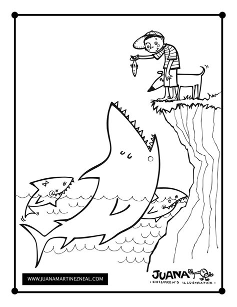 anti coloring book shark coloring pages coloring pages