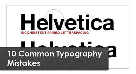 typography mistakes useful articles to improve the typography in logo designs