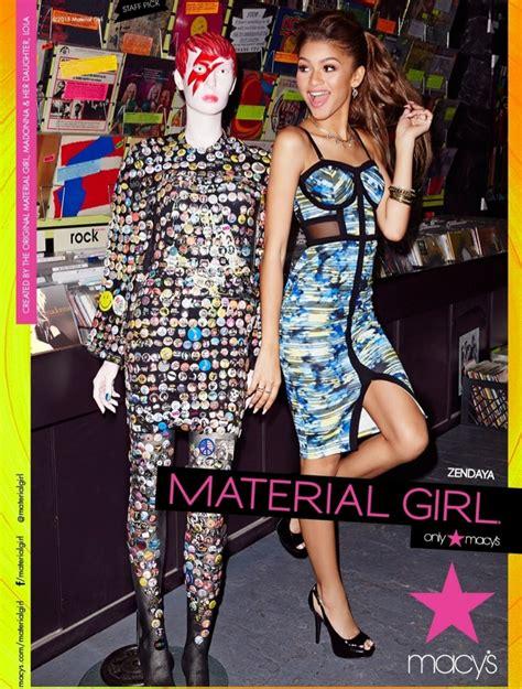 zendaya coleman style 2015 zendaya models for madonna s spring 2015 material girl