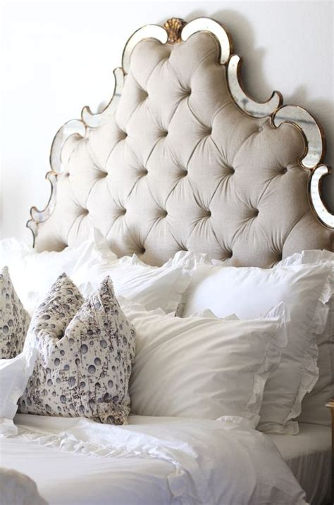 tufted mirrored headboard 36 chic and timeless tufted headboards decor10 blog