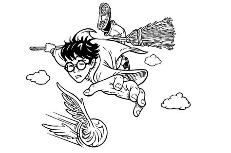 harry potter coloring pages quidditch coloriages harry potter 3 harry 3 013