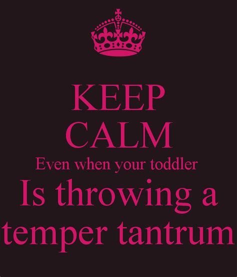 In Quotes Keep Your Temper by Quotes About Toddler Tantrums Quotesgram