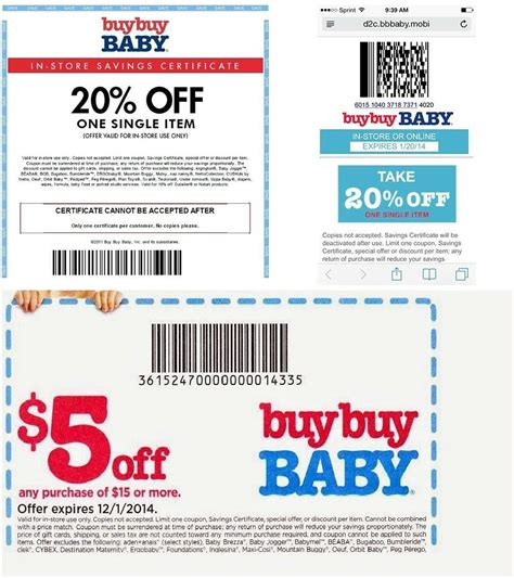 does buy buy baby take bed bath and beyond coupons buy buy baby coupon 20 off printable coupons codes 2015