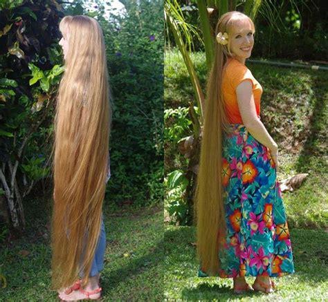 rambut  rapunzel wanita  mengaku rahasianya makan