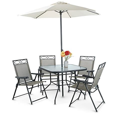 6 Pc Patio Set by 6 Pc Deluxe Patio Set Home Patio And Furniture