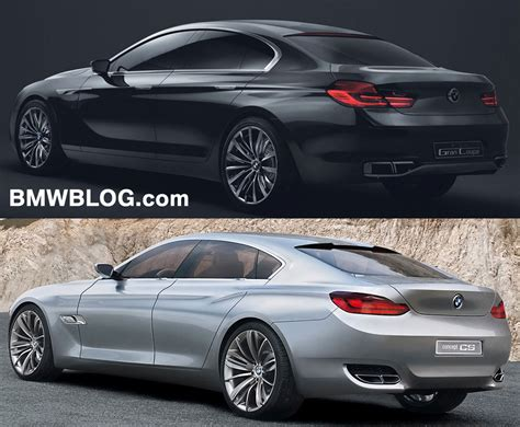bmw cs concept photo comparison bmw gran coupe vs bmw cs concept