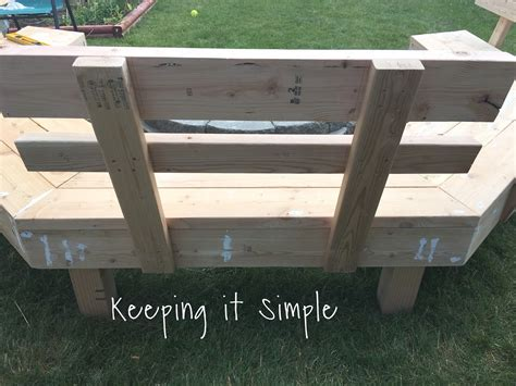 firepit benches diy fire pit bench with step by step insructions keeping