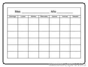 Calendario En Blanco 2017 25 Best Ideas About Plantilla Calendario On