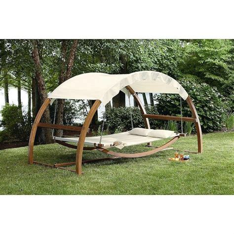 hammock with stand arch swing outdoor bed backyard