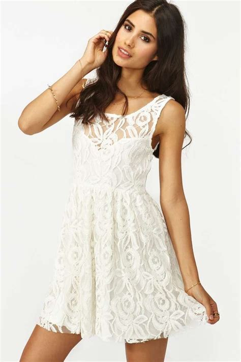 Dress Layla layla lace dress white