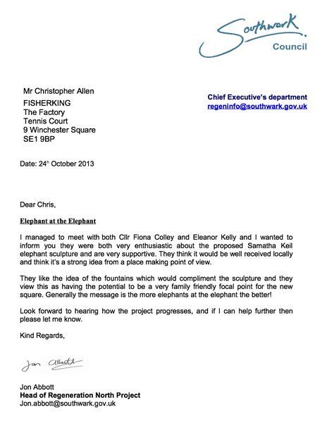 Council Rent Increase Letter Elephant Castle Southwark Notes Whose Regeneration