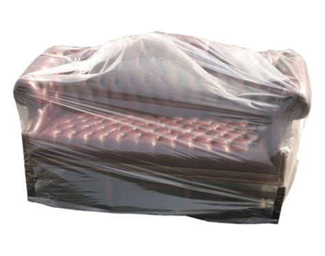 buy protective 3 seat polythene sofa cover