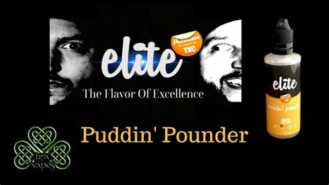 Smax Eliquid elite by tvc puddin pounder e liquid review lifa vapes