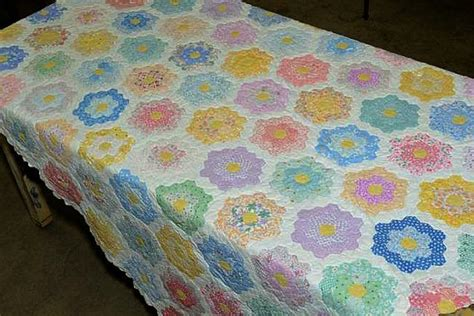 Grandmother S Flower Garden Grandmother Flower Garden Quilt Pattern