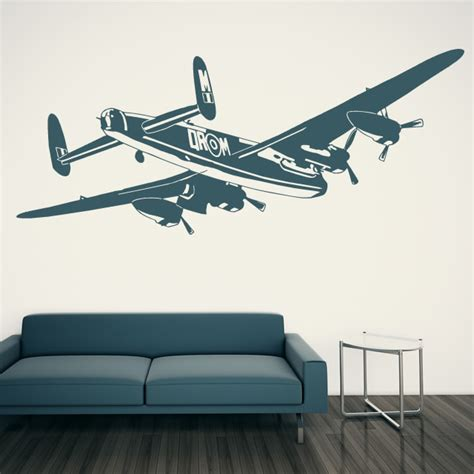 bomber aeroplane plane wall sticker wall decal transfers ebay