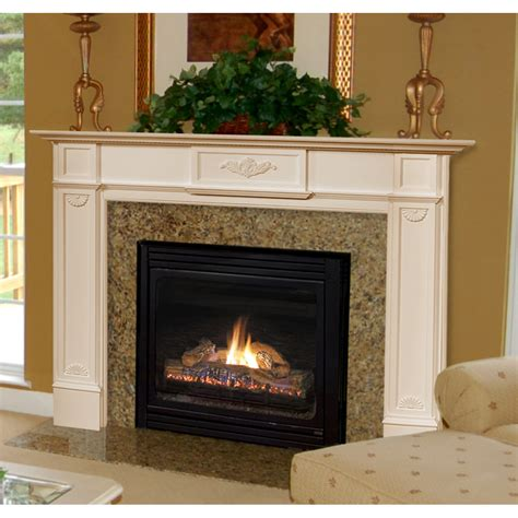 pearl mantels 56 quot monticello fireplace mantel surround