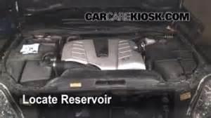 check windshield washer fluid lexus ls430 2001 2006