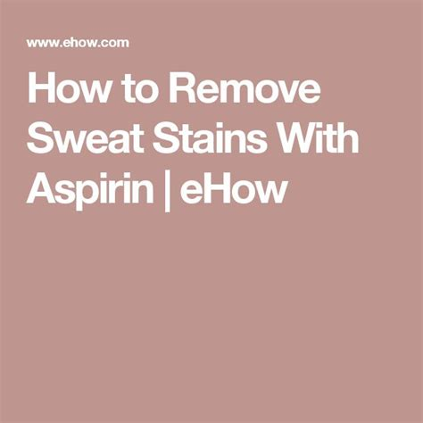 How To Remove Sweat Stains From Mattress by 17 Best Ideas About Remove Sweat Stains On