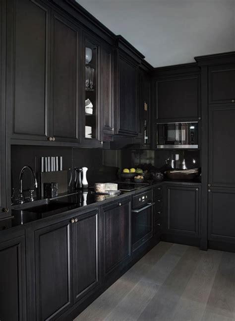 all black kitchen 5 bold all black kitchens diamond interiors kitchens