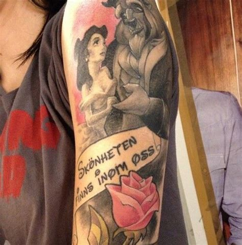 beauty and the beast tattoo designs beautiful and the beast tattoos xo