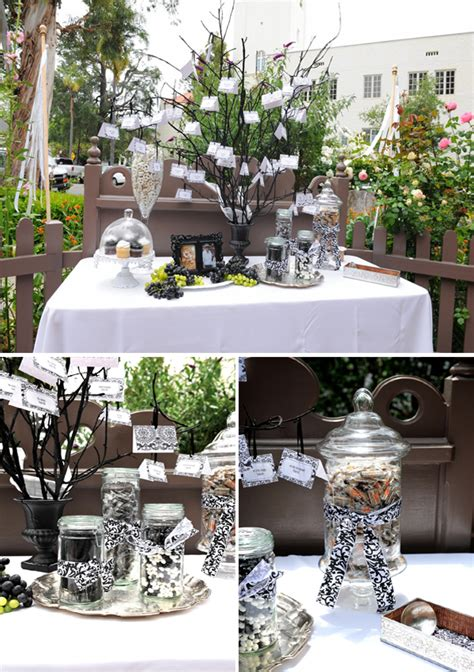 black and white 1940s theme wedding every last detail