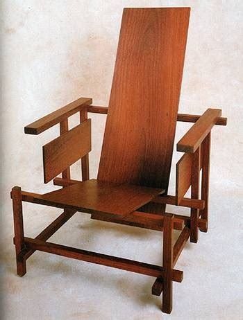 chaise rietveld 81 best images about de stijl way of on