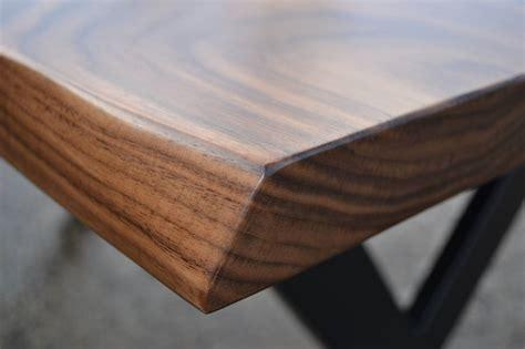 black walnut desk desk solid black walnut x leg design by hairpins