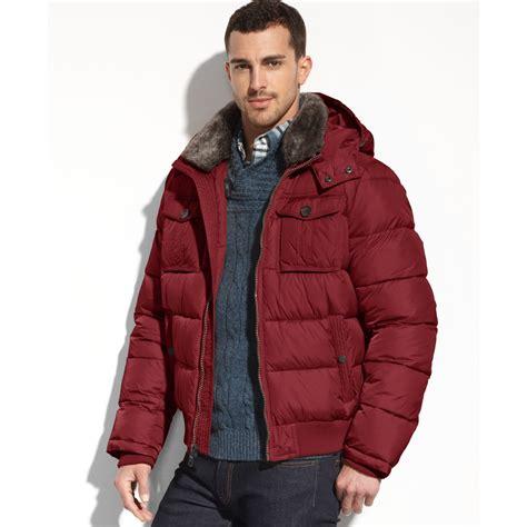 Tommy Hilfiger Puffer Jacket Fur Hood | tommy hilfiger double pocket faux fur trim puffer