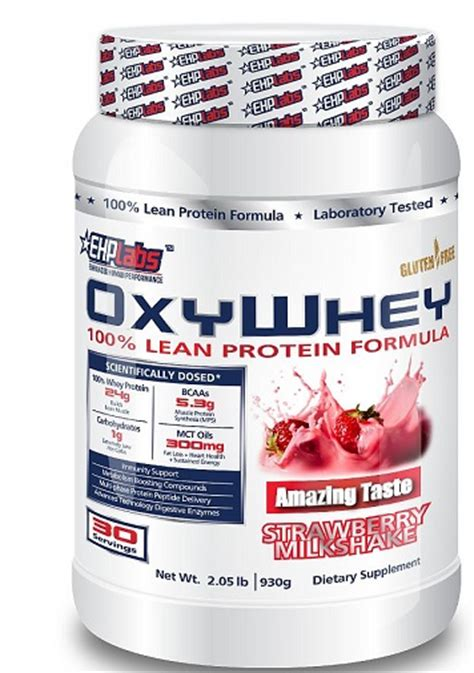 Oxy Whey Supplement Mania Ehp Labs Oxy Whey Protein Powder