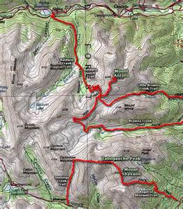 mt antero colorado map mount antero