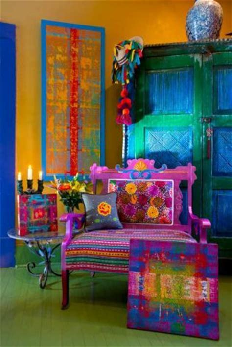 Mexican Decor by Mexican Colors Furniture And Boho On
