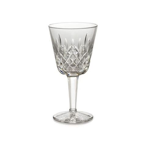 crystal barware lismore by waterford crystal stemware