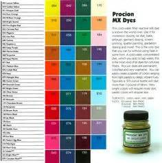 from jacquard their mixing chart for quot silk colors quot the green and acid dyes i how