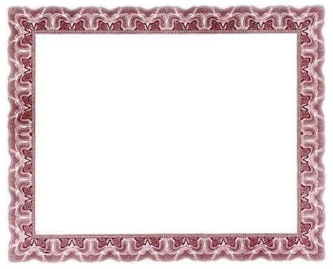 certificate borders for word document in border designs