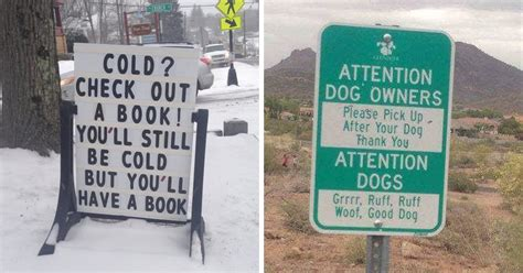 7 Signs You Might Be Being Played By A Womanizer by 24 Of The Funniest Signs Spotted Around