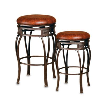 hillsdale montello backless bar stools hillsdale montello backless bar stool bed bath beyond