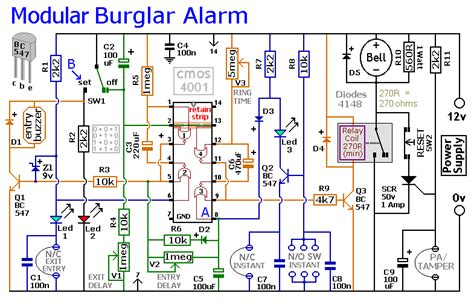 home alarm system wiring diagram get free image about