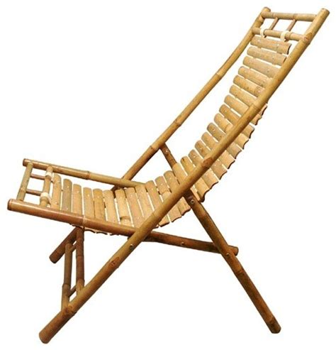Handmade Chairs - handmade bamboo lounge chair from fair trade