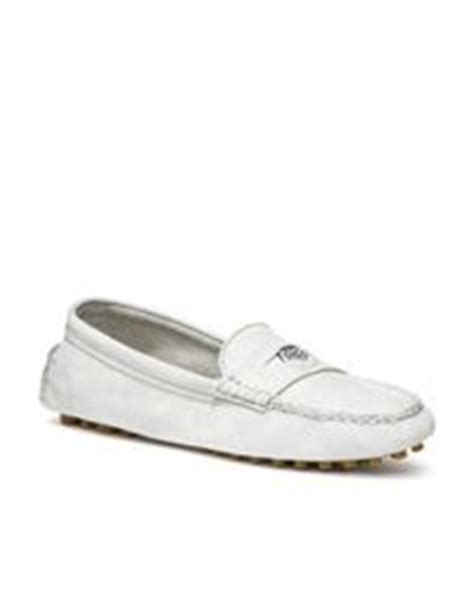 coach nicola loafer coach nicola loafer in white chalk lyst