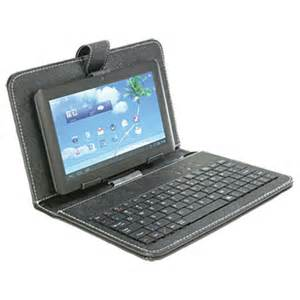 Inch android tablet w keyboard amp case atauction com