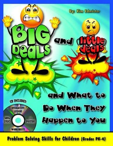 bigg baby a bigg deal books elementary counseling is it a big deal or a deal
