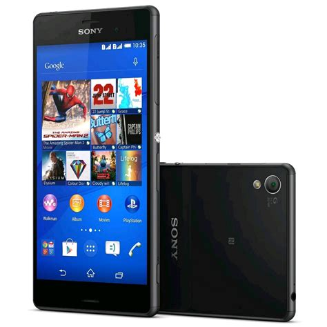 sony xperia   unlocked lte gb black