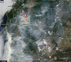 oregon forest fires map jim wickre summer turns in medford due to forest fires