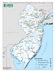 In Nj Usgs New Jersey Summary Of August 27 30 2011 Flooding In