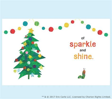 Apply For Pottery Barn Credit Card Merry Christmas From The Very Hungry Caterpillar Book