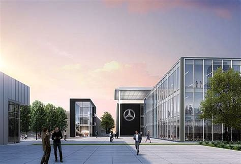 mercedes previews design for new atlanta hq