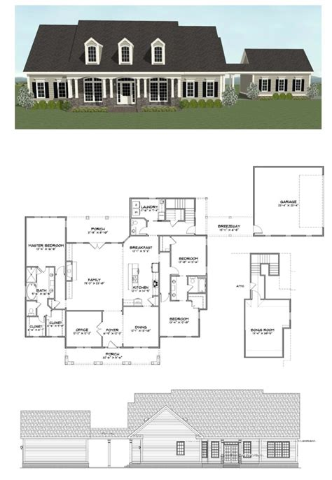 plan sc2606 3 bedroom office and 2 5 bath home with