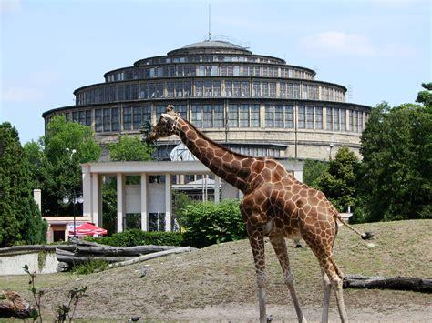 zoologischer garten breslau plik wroclaw zoo and centennial jpg