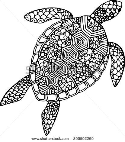 abstract turtle coloring pages sea turtle tattoo stock images royalty free images